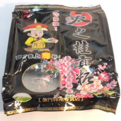 Healthy black sesame tribute candy